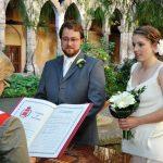 Wedding ceremony in sorrento