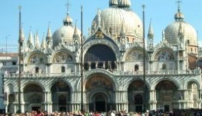 330503 XI Century Catholic Basilica in Venice