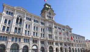 850501 Trieste Town Hall