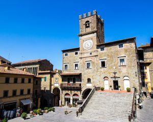 Civil wedding in cortona
