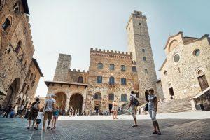 Wedding in San Gimignano