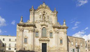 700502 XIII Century Basilica in Matera
