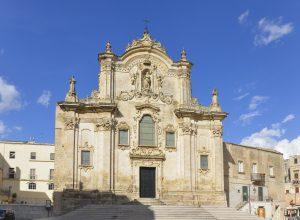 Basilica in Matera